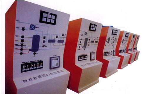 Paneles de mando y sinópticos C. Nuclear de Cofrentes
